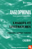 n° 09 - Langues et littératures / Linguistique, stylistique, traduction