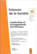 n° 53 - Leadership et arrangements territoriaux