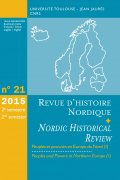 n° 21 - Peuples et pouvoirs en Europe du Nord (1) / Peoples and Powers in Northern Europe (1)