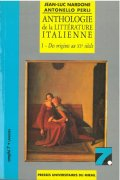 Anthologie de la littérature italienne - Tome 1