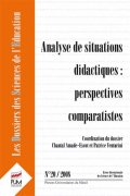 n° 20 - Analyse de situations didactiques : perspectives comparatistes