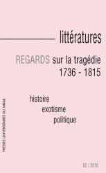 n° 62 - Regards sur la tragédie, 1736 - 1815