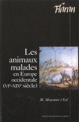 Les animaux malades en Europe occidentale