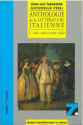 Anthologie de la littérature italienne - Tome 2
