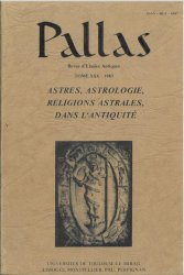 n° 30 - Astres, Astrologie, Religions astrales