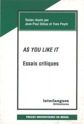 As you like it (Essais critiques)