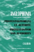 n° 17 - Protestantisme(s) et autorité / Protestantism and authority