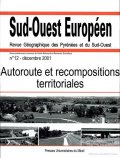 n° 12 - Autoroute et recompositions territoriales