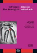 Schwarzes Tier Traurigkeit / Tristesse animal noir