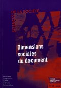 n° 68 - Dimensions sociales du document