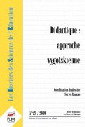 n° 21 - Didactique : approche vygotskienne