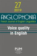 n° 27 - Voice Quality in English
