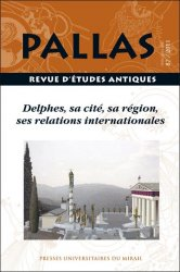 n° 87 - Delphes, sa cité, sa région, ses relations internationales